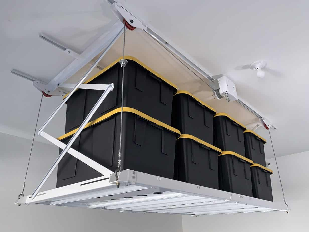 Retractable Ceiling Storage Lift